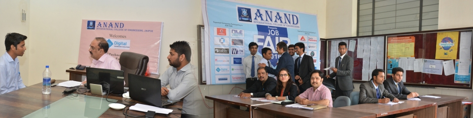 Campus placement Drive by SynapseIndia was conducted in Anand International College of Engineering