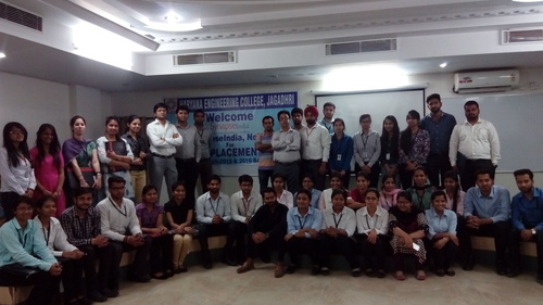 Campus placement Drive by SynapseIndia was conducted in HEC college