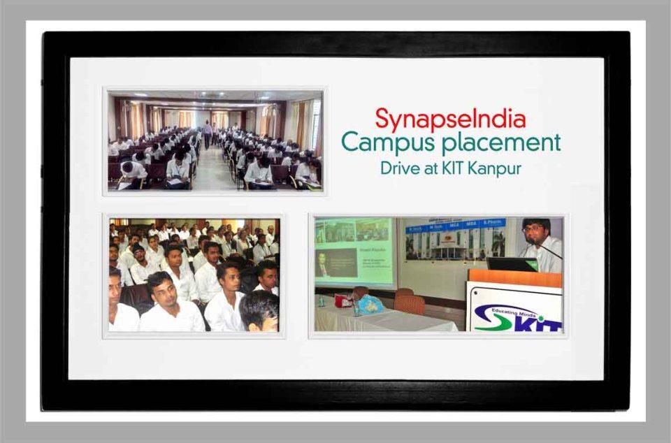 SynapseIndia Campus Recruitment Drive in KIT College