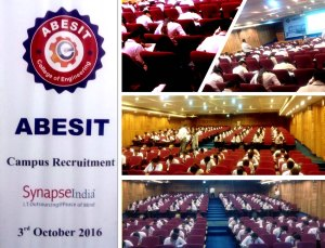 SynapseIndia Recruitment Drive at ABESIT