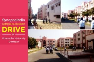 SynapseIndia Recruitment Drive at Uttaranchal University