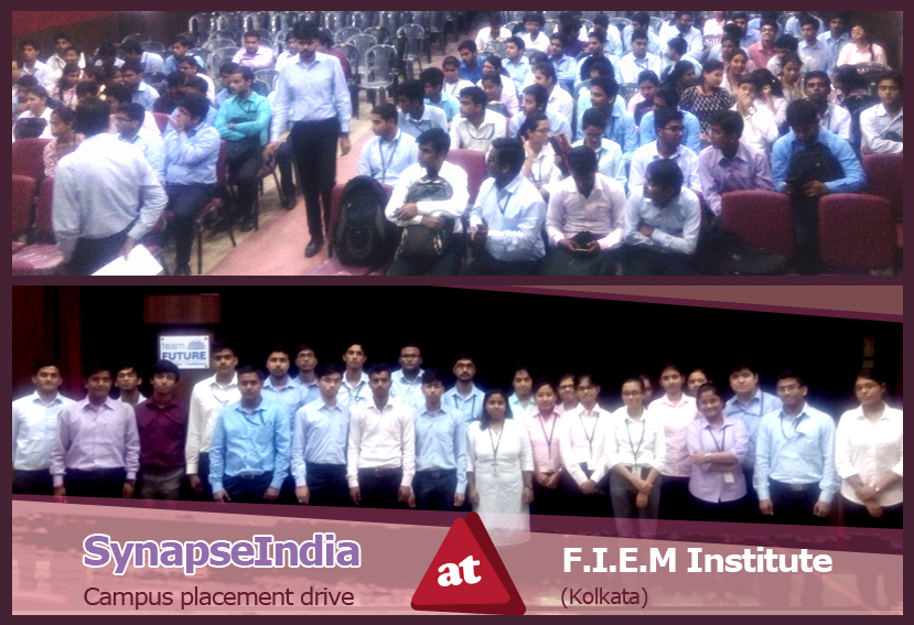 SynapseIndia Campus Placement Drive at FIEM