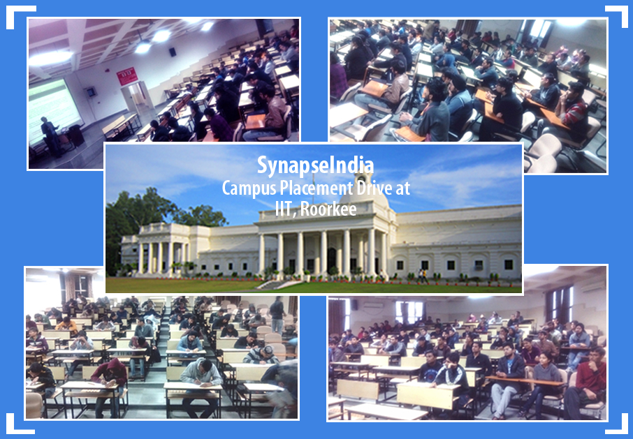 SynapseIndia Campus Placement Drive at IIT Roorkee