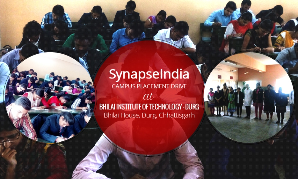 synapseindia-campus-placement-drive-at-bit-durg