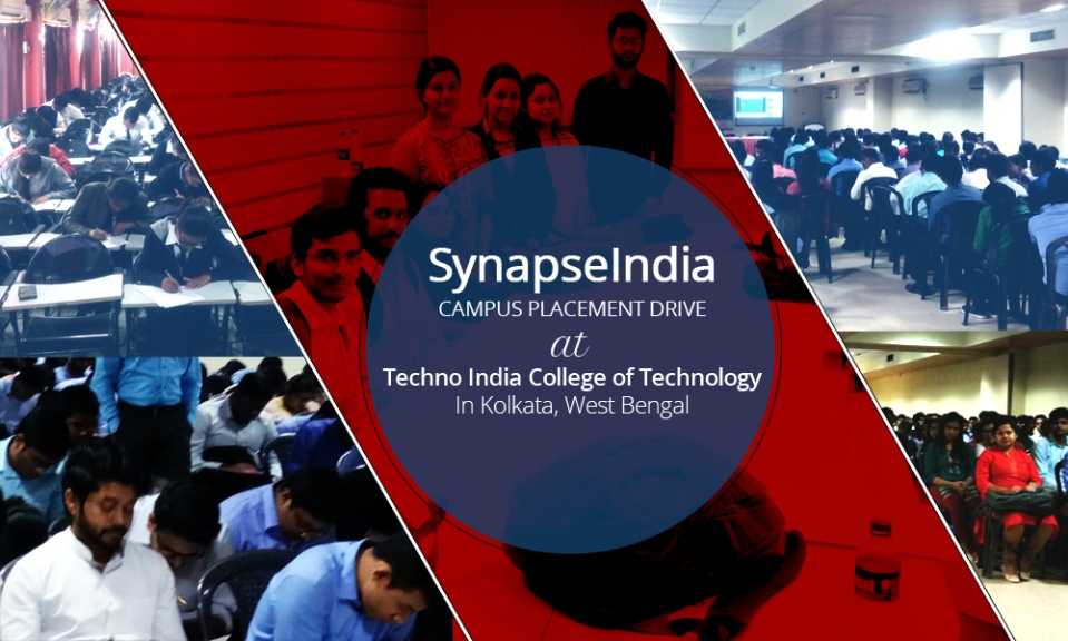 SynapseIndia campus placement drive at TICT, kolkata